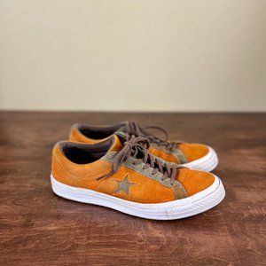 Suede converse one stars